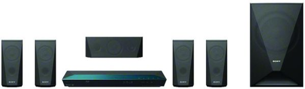 Sony 1000W,USB Record and Playback, 1080p Upscale, DVD Home Theater System (Model DAV-DZ350) DZ350