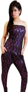 FG jumpsuit material skin in lace 2xlarge size