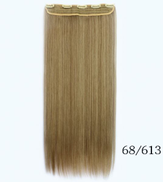 Fashion different colors mixed long straight Hair Extension 5006-9