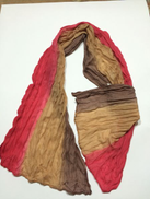 Adel2657 Adel2657 Read more Scarf Cotton Chiffon Wrinkled Color Red In Beige In Brown Item No 252-71
