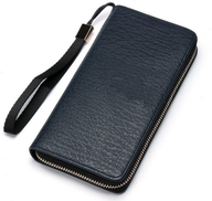Long wallet for men than leather color navy blue Item No 1107 - 888