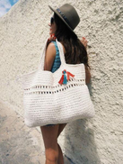 NFSayed Bag For Women,White - Tote Bags