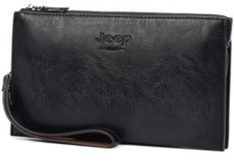 Jeep Bag For Men,Black - Baguette Bags