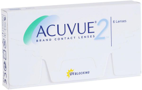 Acuvue 2 Clear Lenses - Power -3.75 - Monthly