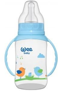 Wee baby feeding bottle with handle 150cc-744 - Multi Color