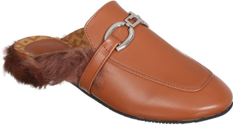 Venti Clog Slipper For Women - Camel