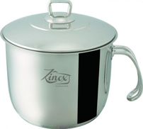 Zinox Stainless Steel Milk Pot , Size 14