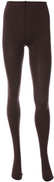 Pinky Thick Opaque Tights For Women - Brown - 2724633597697