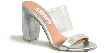 Dou By Misura Casual Sandals for Women - Silver