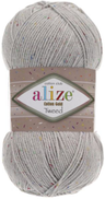 Alize Cotton Gold Tweed, Light Grey 200