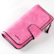 Baellerry Red Faux Leather For Women - Trifold Wallets