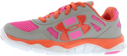Under Armour Engage BL Running Shoes for Girls, Multi Color