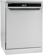 Sharp QW-V1015M-SS2 Dishwasher with Digital Display, 15 Persons, 10 Programs, 60 cm - Silver