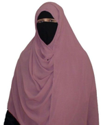 Other Islamic hijab, without pins Chiffon- Blessed