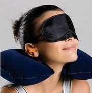 Other Inflatable Pillow Neck Cushion + Eye Cover + Earplug