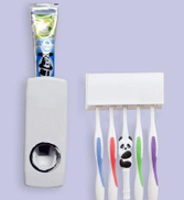 Other Tooth Paste Dispencer with 5 -Brush Holder