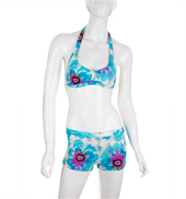 Mesuca Turquoise Tankinis For Women