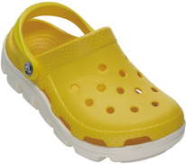 Crocs 11992 Casual for Kids Unisex - Yellow and White 31-32 EU