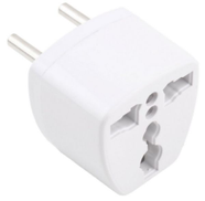 socket to turn to the European System of Egyptian white color Item No 427 - 1