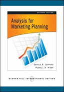 0 Analysis For Marketing Planning, 7th Edition by Donald R. Lehmann