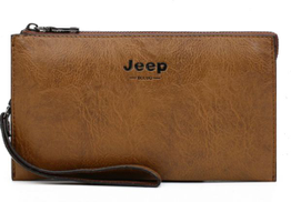 Jeep Bag For Men,Light Brown - Baguette Bags