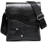 Jeep Bag For Men,Black - Crossbody Bags