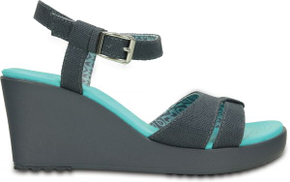Crocs Grey Wedge Sandal For Women