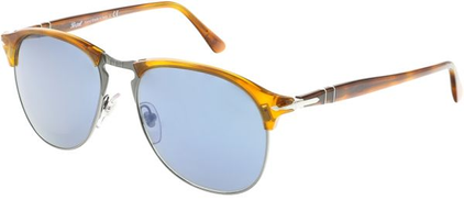 Persol Clubmaster Men's Sunglasses - PO8649S-96 56-56 - 56-18- 145mm