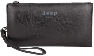 Jeep Bag For Unisex,Black - Clutches