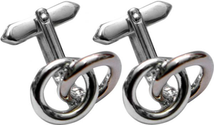 Paolo Ferre 30.939RY Cufflinks For Man- Silver Bronze