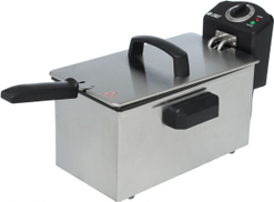 First One WDBDZ-30 Fryer, 3 Liter - Silver