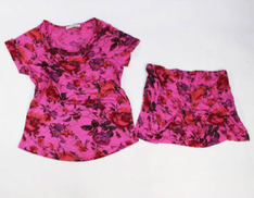 Other Rose Red Pajama Short For Women