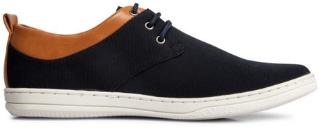 JB Lace Up Shoes For Men - Navy