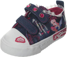 Tobaco Sneakers For Girls - abc-1, Jeans White