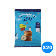 Bake Rolz Salt And Vinegar Whole Wheat Bread - 20 Pouch