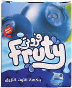 Fruty Juice with Blueberry Flavor - Set of 20, 12 grams