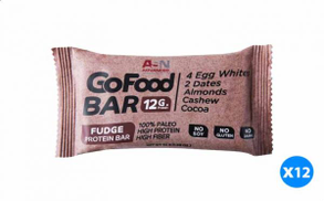 Advanced Go Food Protein Bar with Fudge Flavour - 56 gm