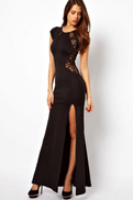 Black Special Occasion Dress For Women