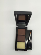 M.N Mn cosmetics Eyebrow powder with brush color Brown and Brown