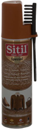 Sitil 122 SSNs Nubuck Suede Spray Paint With Brush 250 ml-Light Brown