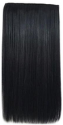 women Synthetic Hair Extension Weft With 5 clip