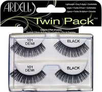 Ardell Twin Pack 101 Black Eye Lashes