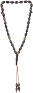 Rosary For Unisex - Brown