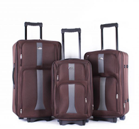 Concord Luggage Trolley Bags Set ,3 Pieces ,Coffee ,97316