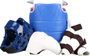 Other Combat Sports Protective Kit 7 Pieces - Size 3 - Blue