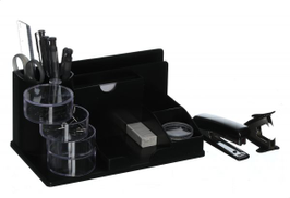 Eagle TY390S Desk Organizer Set - Black