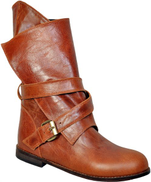 Dou By Misura Mid Calf Pull On Boot For Women - Havan