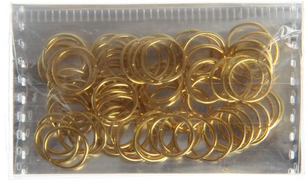 0 Pack Of Accessories To Make Earrings, Gold