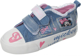 Tobaco Sneakers For Kids - abc-21, Jeans White