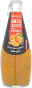 Dobella Basil Seeds with Orange Juice, 290 ml